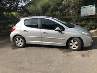 **PEUGEOT 207 CIELO SPORT (LIMITED EDITION) IDEAL FIRST CAR, LOW MILEAGE, ECONOMICAL RUNNER**