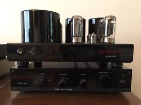 Graaf Graafiti 5050 Valve Power Amplifier and WFB TWO Valve Preamplifier