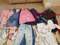 Baby girls clothes bundles mostly 9-12 months and mostly from next £20