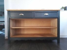 KITCHEN DRESSER / SIDEBOARD with drawers and open shelving