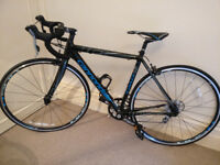 Never Used Womens Cannondale 48 race bike
