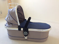 iCandy Peach 3 Carrycot Cradle In Colour Azure with Rain Cover