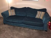 2 Teal DFS Couches