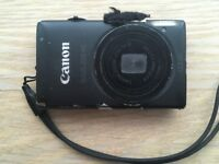 Canon Ixus 220 HS Black - Great for YouTube vlogging