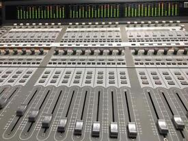 Avid C24 mixing desk console for Pro Tools
