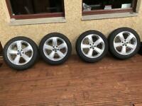 Snow tyres and alloy wheels for Vauxhall Mokka