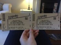 A Perfect Circle Tickets Manchester x 2 Seated Rear Circle, Row N, Seat 34 and 35