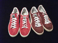 Puma Suedes - two pairs (11)