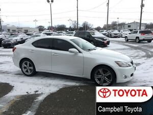 2010 Lexus IS 250 VERY LOW KM'S---V6---6 SPEED