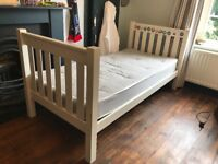 Bunk Bed (Aspace) white with 2 mattresses