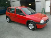 96 Vauxhall Corsa 1.4 LS 5 door only 47000 mls nice car ( can be viewed inside anytime)
