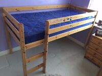 Childs Raised Single Bed