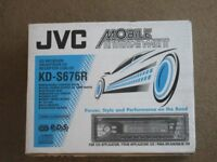 JVC Radio / CD Player KD-S676R