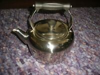 Large stainless steel kettle for Stove