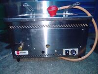 Gas Top Table Fryer.