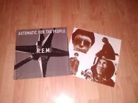 """rem - automatic for the people rare LP + 18 X 7"""" singles"""