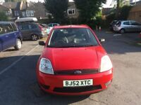 1.2 FORD FIESTA 2002 YEAR PETROL MANUAL 75000 MILES HISTORY MOT 18/09/2018 LOW MILEAGE CAR