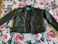 Xl xelement men's leather jacket