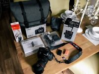 Canon EOS 5D Mark IV with 24-70mm 2.8L II USM Lens Professional Bundle