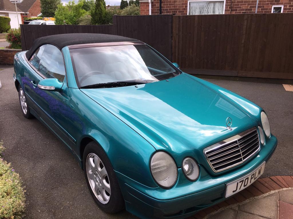 Mercedes 230 Clk Convertible In Nuneaton Warwickshire Gumtree