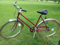 Vintage Ladies Hercules bicycle, with working dynamo, in fantastic condition