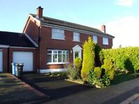 Three bedroom semi with garage to let