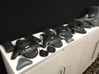 Polycom conference equipment bundle -