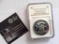 2010 Countdown to Olympics Silver Proof Coin NGC Certified