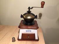 Unused very attractive coffee grinder