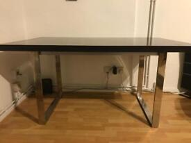 Modern table ideal for a project