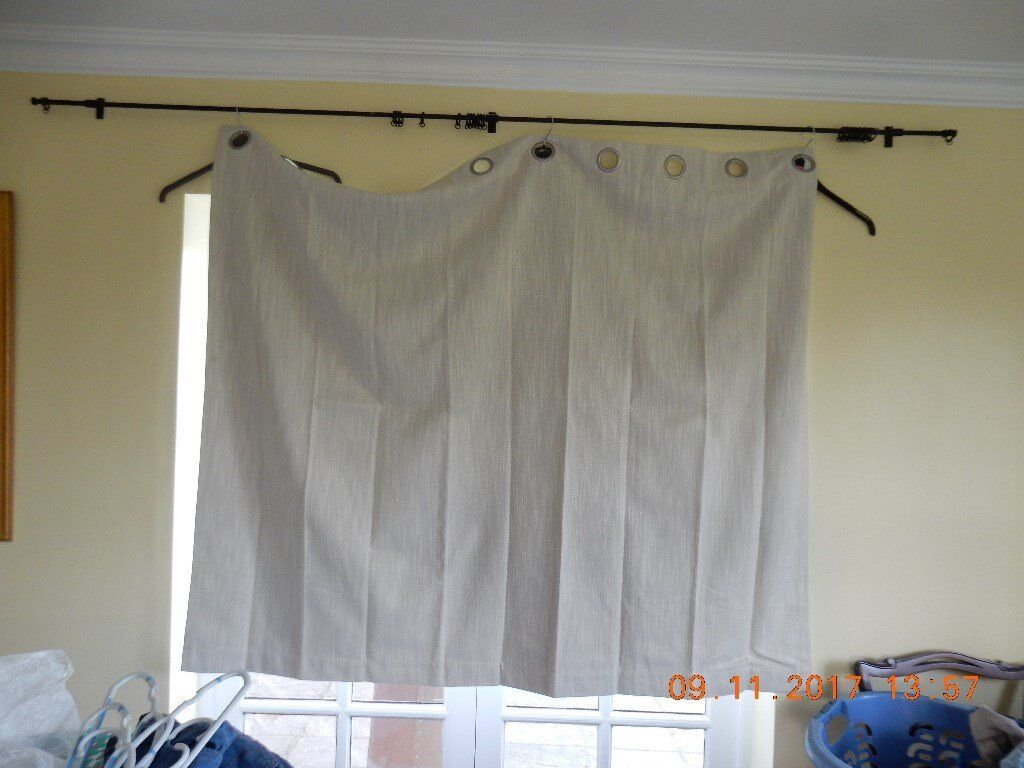 Pair Of Dunelm Curtains Approx 167x137 Cm In Norwich