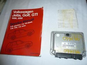 Computer Module + VW Service Manual