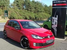 VOLKSWAGEN GOLF 2.0 TSI GTI Edition 35 DSG Auto (red) 2012