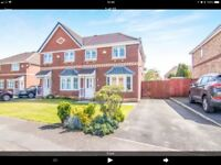 Penda Drive, Shevington L33. Three Bedroom Semi Detatched Unfurnished House To Let