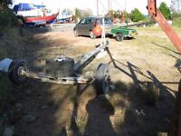 LAUNCHING / YARD TRAILER CHASSIS UP TO 24 FOOT BOAT