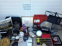 Job Lot of goods suitable for a car booter-proceeds to local charity