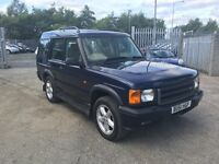 Land Rover DISCOVERY 2 2.5 TD5 Adventurer 5dr / ( 7 Seats ) DIESEL / 1 Year MOT