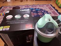Price drop!! Crofton ice cream maker 1.0l capacity condition like new