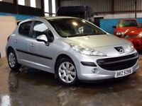 2008 peugeot 207 1.4 petrol with only 62000 miles, motd july 2018