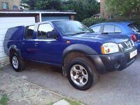 Nissan D22 Navara 2004 new MOT clean tidy 4x4