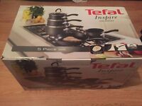 TEFAL INSPIRE 5 PIECE SET BRAND NEW