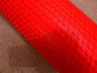 Grid Foam Massage Roller 90cm Red