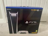 PlayStation 5 Digital Console Brand New & Sealed