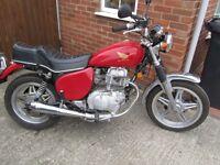 Honda 250 cc CMTB Motorcycle