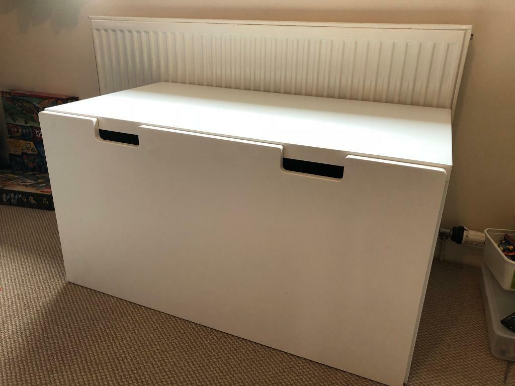 Fine Ikea Stuva White Toy Bench Seat With Toy Box Storage Drawer In Lanark South Lanarkshire Gumtree Gamerscity Chair Design For Home Gamerscityorg