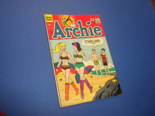 ARCHIE #157 Archie Series Comics 1965 Betty and Veronica Jughead