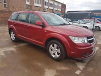 2009 DODGE JOURNEY 2.0 CRD DIESEL AUTOMATIC FULL SERVICE LOW MILES MINT 7 SEATER NOT FORD