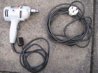 Black & Decker electric hand drill