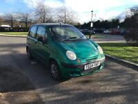 DAEWOO MATIZ 2004 1.0 50K MILES VERY LOW INSURANCE LONG MOT DRIVES LOVELY FULL SERVICE HISTORY