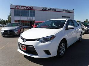 2015 Toyota Corolla LE TOYOTA CERTIFIED PRE-OWNED